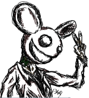Deadmau5 - i5cribble by PilafiaMadness