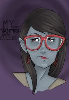 MY LOVELY VAMPIRE HIPSTER MARCELINE: DIGITAL ART by Garaa328788