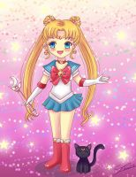 Chibi Sailor Moon by Nawal