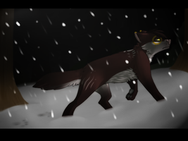 the lone wolf by catdoq