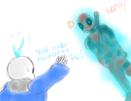Stop underestimating Sans! by 88Death8The8Kid88