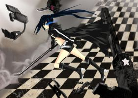Black Rock Shooter by BlazingChaos