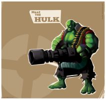 heavy hulk by licarto