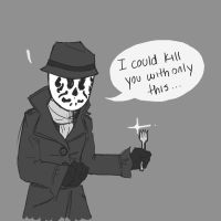 Rorschach by Peepsicle