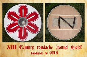 XIII Century rondache by enrico-ors-91