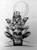 Grateful Dead Biker by SimianBrothers