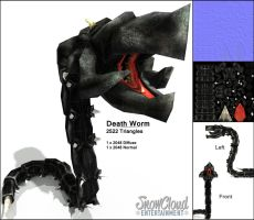 Death Worm - Pirate's Nest by iemersonrosa