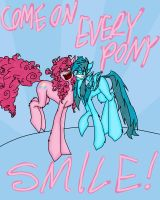Come On And Smile by TheHeadlessArtistart