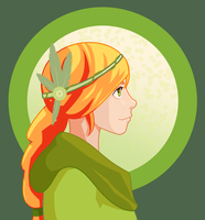 Mistral Braid Windranger by saequrly