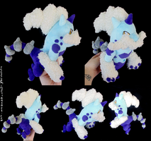 Shiny Thundurus - Therian Forme by xBrittneyJane