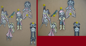 POTC paper children by trickster201