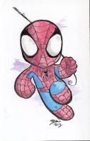 Chibi-Spider-Man 2. by hedbonstudios