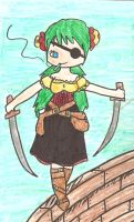 Pirate Kaori by Tainted-Scribbles