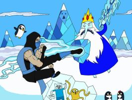 Ice King Vs Sub Zero by mangudai-79