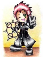 Chibi Axel by animeartist67