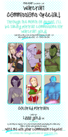 Commission Info Sheet Warcraft by MischiArt