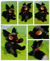 Silver Fox Plushie - SOLD by foxpill