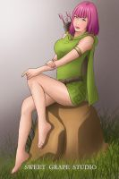 Clash of Clans - Archer by SweetGrapeStudio