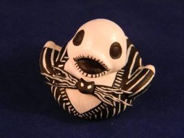 Jack Skellington Duck by spongekitty