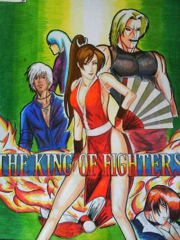 king of fighters arts by Papelzitos