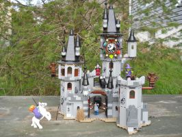Halloween 2015: Vampire Castle by Tough-and-Heartless