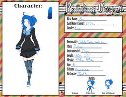 Rainband Geeks: Sea D. Blue by Amy-Kawata
