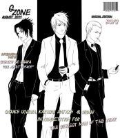 August 2011 special boys by LolyBoo