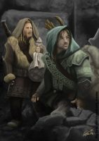 Fili and Kili by flylen