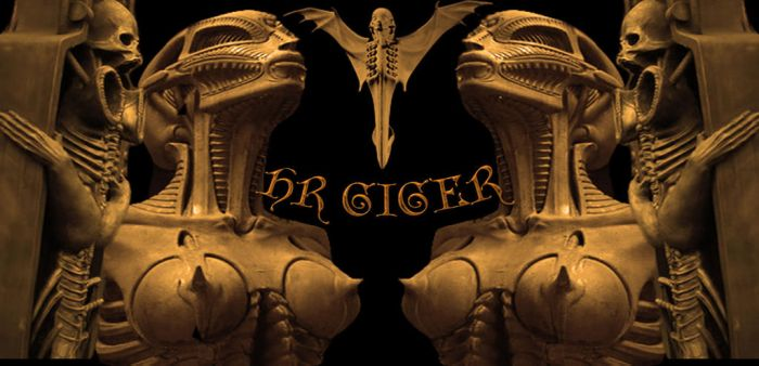 tribute Hr Giger by TerenceWilliams