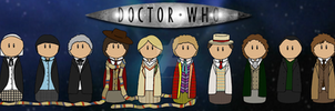 Ten Doctors by xpirateobsessedx
