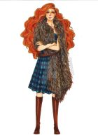 Fashion Illustration - Merida by zyrabanez