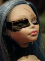 Eurydice, Monster High Ghoulia Yelps. by LukaDolls