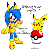 .:+Pika-Jamie and Pikachu+:. by PuffyCookieBoo