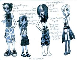 NEW Anime, NEW Characters pg.1 by Shaylex