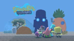 SpongeBob SquarePants LBP by spongefan257