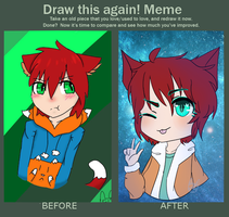 Before and After MeMe by UnwrittenBunny