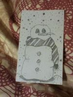 Snowman by babyboo69
