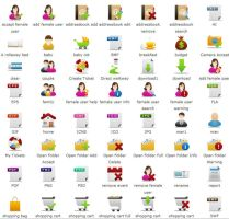 Free pretty office Icons part by FreeIconsFinder