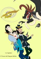 TDT of Lupin 3rd - Copertina del 1o Capitolo by DragonBellum92-DP