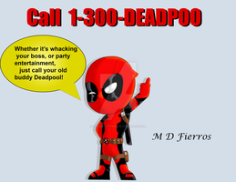 Chibi Deadpool by Ironmatt1995