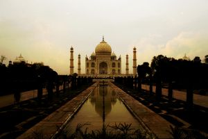 India - Taj Mahal by Gudulett-e