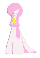 PKMN: Mysterious Pink Gardevoir (named) by TheShinyFurfrou
