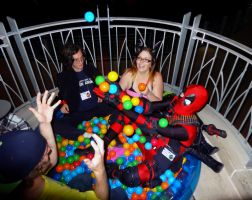Extra Hour in the Ball Pit! by TheDragonSensi