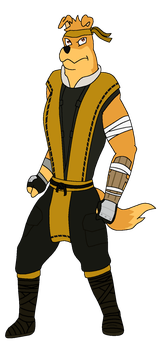 Hunter As Scorpion by T-Shadow-Dragon