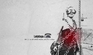 Lady Gaga wallpaper by asiula23