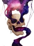 Skull Galaxy by VA2O