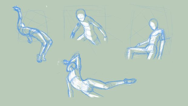 Random poses 33 by BBstudies