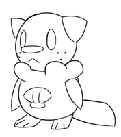 Oshawott Sketch by SWN-001