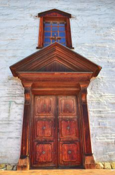 Mission San Jose Door by PaulWeber