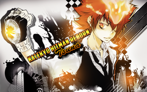 Tsuna Desktop Wallpaper by Lil-Zuzu-chan